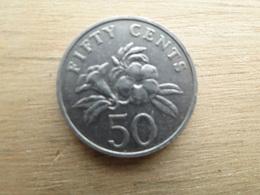 Singapour  50  Cents  1989  Km  53 - Singapour