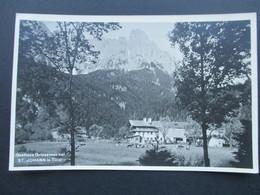 AK / Echtfoto Österreich 1938 Gasthaus Griessenau Bei St. Johann In Tirol. Stempel Des Gasthauses!! - Hotels & Gaststätten
