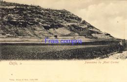 IL - Caifa - Panorama Du Mont Carmel - Israel