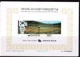 Korea-1986,(Mi.Bl.524),Football, Soccer, Fussball,calcio,MNH - Soccer