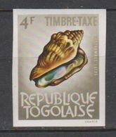Togo 1964 Taxe 65  Coquillage Shell  Imperf *** MNH - Togo (1960-...)
