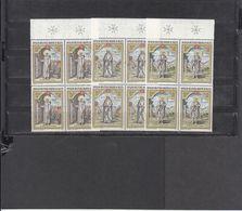 SMOM MALTESER ORDER 1976 M NATALE, Weinhacten Satze Vierer Block  Postfrish - Malte (Ordre De)