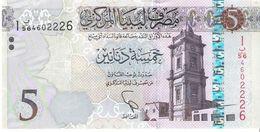 Libya - Pick 81 - 5 Dinars 2015 - 2016 - Unc - Libia