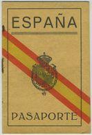 Passeport Espagnol Valable Pour La France Le Portugal Et L'Italie. España. Pasaporte. Délivré à Pampelune En 1931. - Documents Historiques