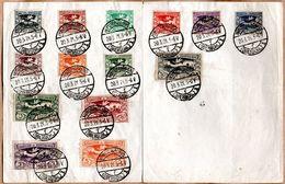Alta Silesia 1921 O YT 31-40, 42-3, 46-7 En Papel. Comisión De Gobierno. - Schlesien (Ober- Und Nieder-)