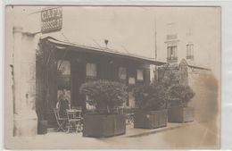 """1 Carte Photo à Identifier ?? """" Café Rousselot """" - A Identifier"""