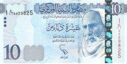 Libya - Pick 82 - 10 Dinars 2015 - 2016 - Unc - Libia