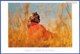 CAMPONESA - PROVÍNCIA DO HUAMBO .. Edição - Foto Sérgio Guerra / Não Circulado - Angola