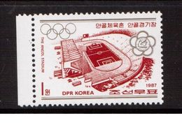 Korea-D.P.R.-1987,(Mi.2863),Football, Soccer, Fussball,calcio,MNH - Soccer