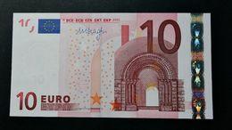 EURO . 10 Euro 2002 Draghi P019 X Germany UNC - EURO