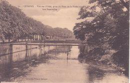 CPA - 72. QUIMPER - Vue Sur L'odet, Prise Du Pont De La Préfecture..... - Quimper