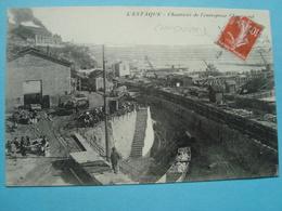 13 - Marseille - L'Estaque - Chantiers De L'entreprise Chagniaud - 1912 - L'Estaque