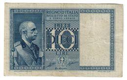 Italy 10 Lire 1935 - [ 1] …-1946 : Kingdom