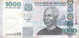 Tanzania - Pick 36 - 1000 Shilingi 2003 - F - Tanzania