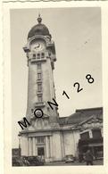 LIMOGES - BENEDICTINS - HORLOGE DE LA GARE 1938 - PHOTO DE FAMILLE 11,5x7 Cms - (voitures Autocar) - Places