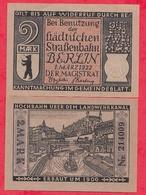 Allemagne 1 Notgeld 2 Mark  Stadt Berlin UNC Lot N °46 - [ 3] 1918-1933 : Weimar Republic