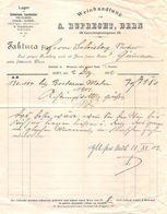 Weinhandlung A. Ruprecht, Bern, Datiert Dezember 1902 - Suisse