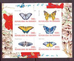 B URUNDI  2009  PAPILLONS  YVERT N° NEUF MNH** - Schmetterlinge