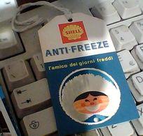 TAGLIANDO ANTI GELO ANTI.FREEZE SHELL  1966   GO22098 - Automobili