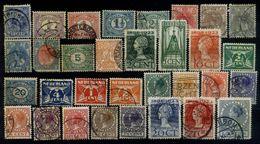Niederlande Mix Set Stamps Of Netherlands Pays-Bas Los Países Bajos Nederland Small Selection Used 6960 - 1891-1948 (Wilhelmine)