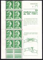 Fr 1955 - N° Y&T 1010 C1 - Marianne De Muller ** - Libretti