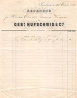 Gebr. Hufschmid & Cie., Trimbach 1861 - Suisse