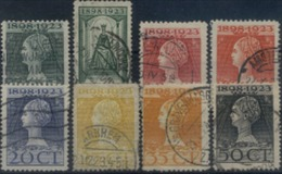 Niederlande 121 - 128 Mix Set Stamps Of Netherlands Pays-Bas Los Países Bajos Nederland Small Selection Used 6967 - 1891-1948 (Wilhelmine)