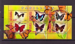 C ONGO  2013  PAPILLONS  YVERT N° NEUF MNH** - Schmetterlinge