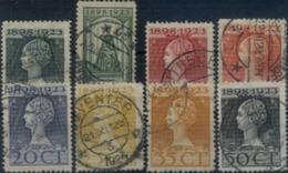 Niederlande 121 - 128 Mix Set Stamps Of Netherlands Pays-Bas Los Países Bajos Nederland Small Selection Used 6968 - 1891-1948 (Wilhelmine)