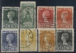 Niederlande 121 - 128 Mix Set Stamps Of Netherlands Pays-Bas Los Países Bajos Nederland Small Selection Used 6970 - Oblitérés