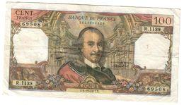 France 100 Francs 02/12/1977 - 1962-1997 ''Francs''