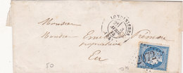 379 - LSC - CERES 60 - 3.4.73 -  LONDINIERES  à  EU - Postmark Collection (Covers)