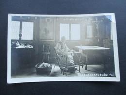 Österreich Um 1900 Echtfoto AK Montafoner Stube. Alte Frau Spinnt Wolle. Heimatbilderverlag G. Heinzle's Erben Bludenz - Bludenz