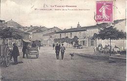 82 - TARN Et GARONNE - 87 - GRISOLLES - Sortie De La Ville Sur Montauban - Bon état - Circulé 1934 - Grisolles