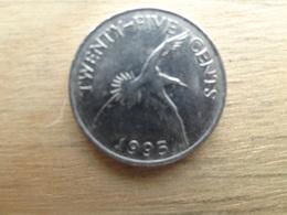 Bermudes  25  Cents  1995  Km  47 - Bermuda