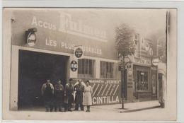 "1 Carte Photo à Identifier ?? "" Garage , Station Officiel Lavalette Bosch "" - A Identifier"