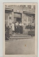 "1 Carte Photo à Identifier ?? "" Café E.Bouchard "" - A Identifier"