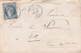 380 - LSC - CERES 60 - 20.4.74 -  VERSAILLES  à  EU - Postmark Collection (Covers)