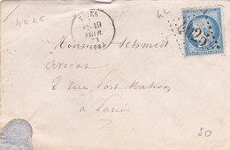 380 - LSC - CERES 60 - 19.3.73 -  TRIEL  à  PARIS - Postmark Collection (Covers)