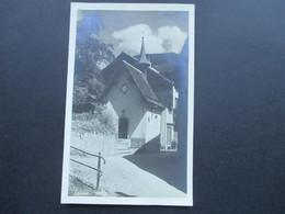 Österreich1925 AK / Echtfoto. Kapelle Maria Hilf. Schruns. Photo Silvrettaverlag Otto Steiner, Schruns - Schruns