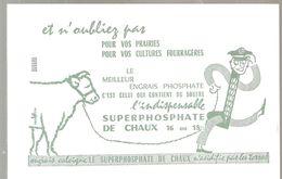 Buvard Superphosphate De Chaux 16 Ou 18 De Couleur Blanche - Agriculture