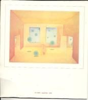 Calendrier 20 Sur 22 Cm Illustré Par Jean-Michel FOLON 3 Suisses 5 Illustrations - Big : 1981-90