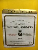 6956 - Château Lafaurie-Peyraguey 1978 Sauternes - Bordeaux