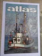 AIR FRANCE - Magazine ATLAS N° 132/6 Juin 1977 - Birmanie - Les Lofoten - Au Coeur De L'Amazonie - Transports