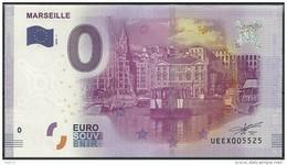 Billet Touristique 0 Euro  2016 - MARSEILLE Le Vieux Port - EURO