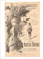 Partitions Editions Françis Salabert Non Datée A Batignolles Oraison Funèbre D'Aristide Bruant - Scores & Partitions