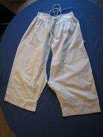 175 – Culotte Ancienne Ouverte Monogrammée MB - Vintage Clothes & Linen