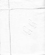 Drap Ancien Monogramme C B  Et Ses 2 Taies D' Oreillers Assorties - Bed Sheets