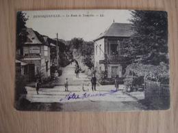 CPA HENNEQUEVILLE 14 LA ROUTE DE TROUVILLE - Other Municipalities