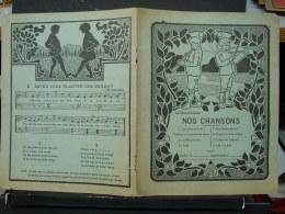 BuAut. 10. Couverture De Cahier. Nos Chansons - Other
